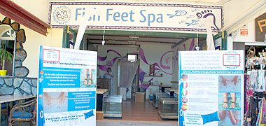 Fish Feet Spa in Morro Jable auf Fuerteventura
