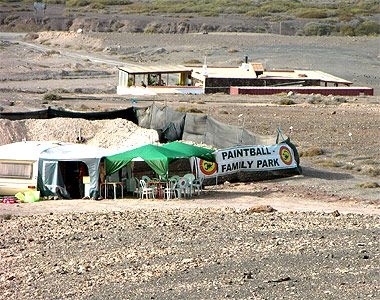Paintball aufFuerteventura