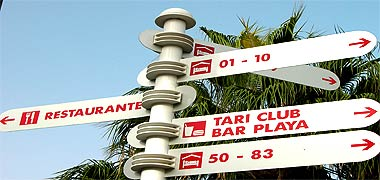 Tari Club und Bar Playa im SBH Taro Beach in Costa Calma