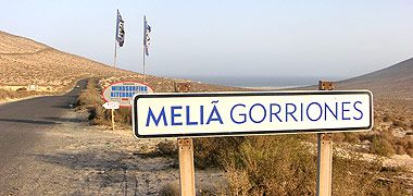 Melia Gorriones am Surfspot