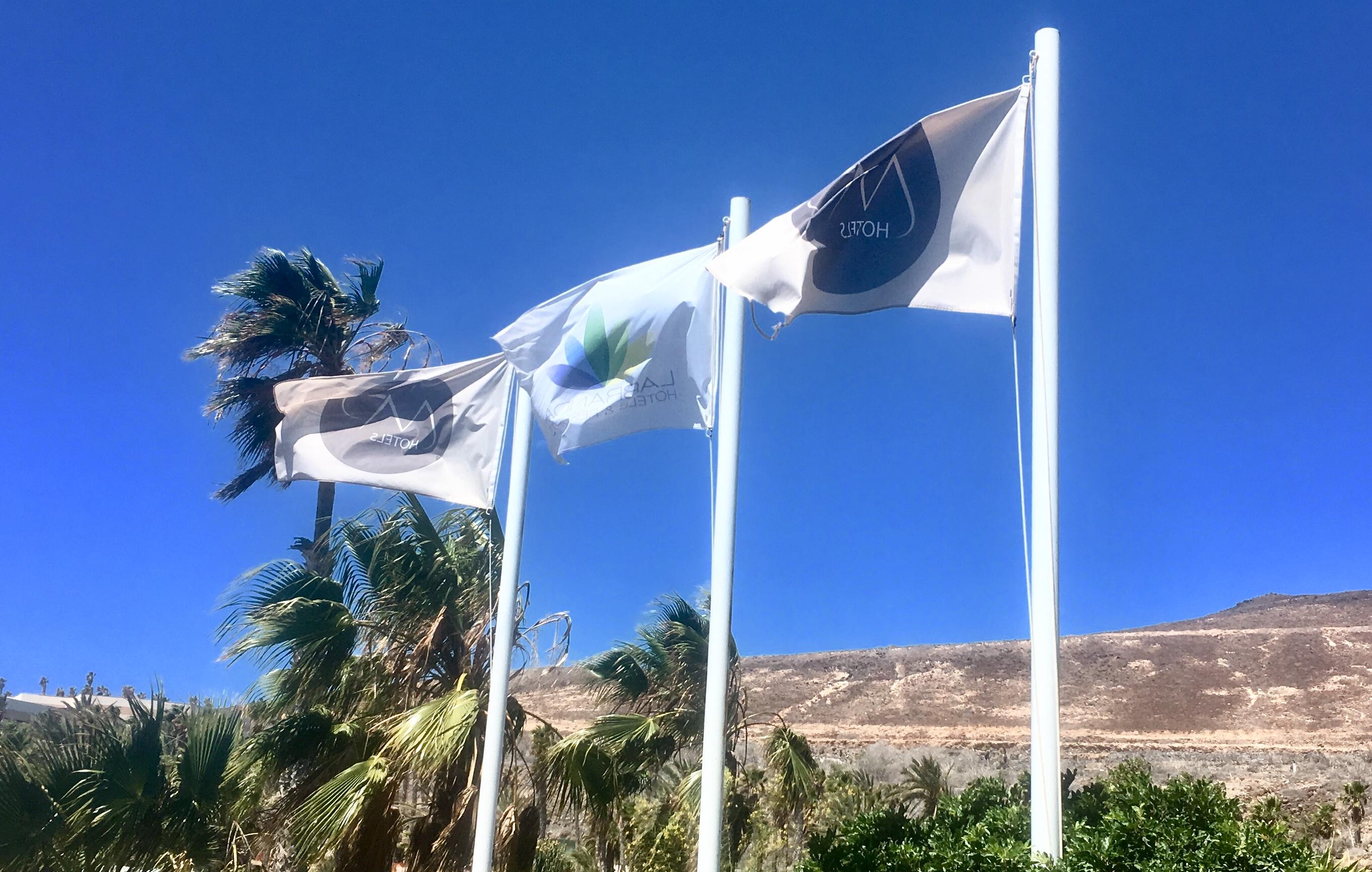 Labranda world neue flaggen gehisst