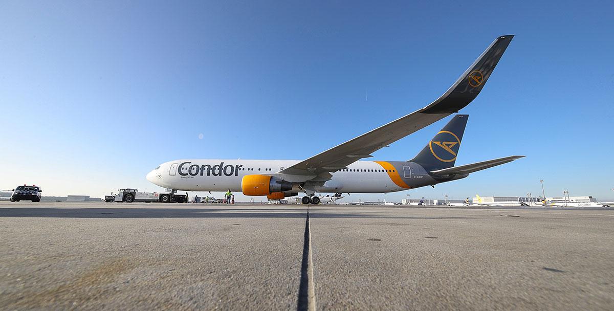 condor im neuen design © Condor 2019