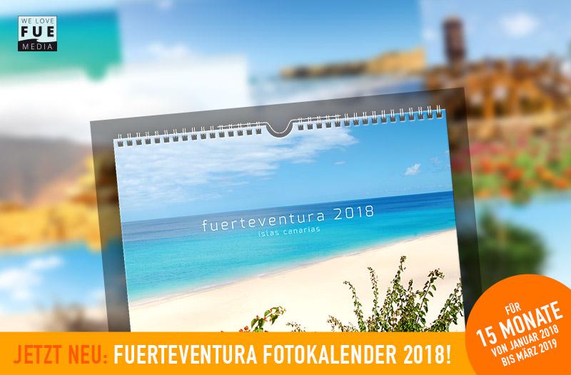 Fuerteventura Fotokalender 2018 +