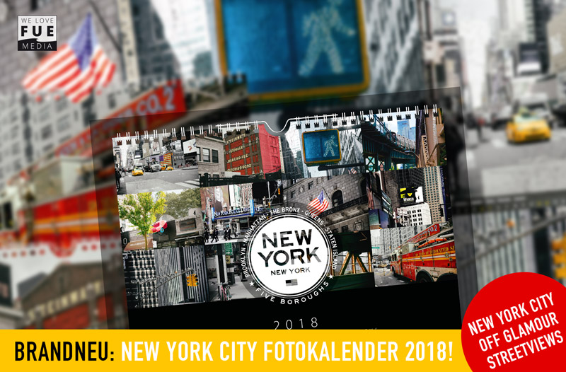 new york fotokalender 2018